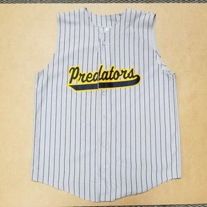 Sleeveless Softball Jersey Predators #25 Mens 2XL